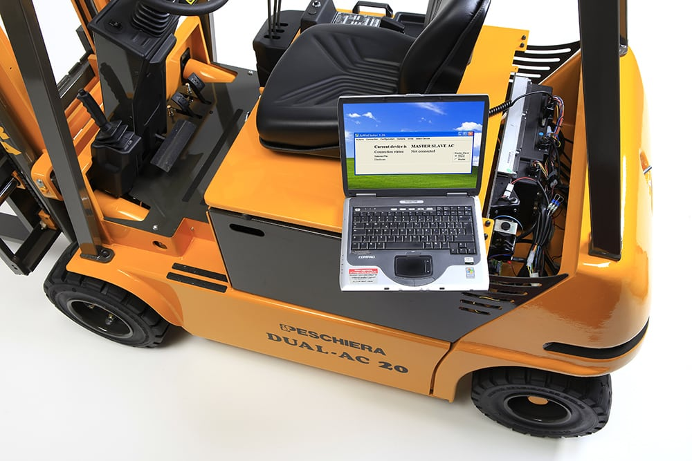 SEARCH for maintenance technician for electric forklifts